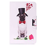 Dog Pattern Card Holder Wallet with Stand Flip Magnetic PU Leather Case for Samsung Galaxy TAB A 10.1 T580N T585N 10.1 inch Tablet PC