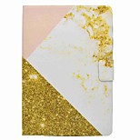 supporto per carta modello in marmo con custodia in pelle in cuoio magnetico per taccuino per la scheda galassia samsung a t550 t555c