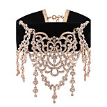 Women's Choker Necklaces Rhinestone Jewelry Alloy Vintage Sweet Elegant Jewelry For Daily Casual
