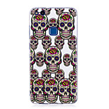 Case For P8 Lite (2017) P10 Lite Glow in the Dark IMD Pattern Back Cover Skull Soft TPU for Huawei P10 Lite Huawei P9 Lite Huawei P8 Lite