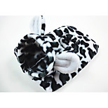 Dog Costume Dog Clothes Casual/Daily Geometic Black/White Costume For Pets