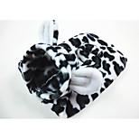 Собака Костюмы Одежда для собак На каждый день геометрический Черный/Белый Костюм Для домашних животных