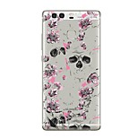 For Case Cover Transparent Pattern Back Cover Case Transparent Flower Soft TPU for Huawei Huawei P10 Plus Huawei P10 Lite Huawei P10