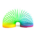 Educational Toy Science & Discovery Toys Magic Tricks Coiled Spring Toys Stress Relievers Toys Flourescent Retractable Office Desk Toys
