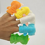 Reading Toys Finger Puppet Toys Cartoon For Bedtime Stories Animals 7 Pieces