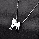 Dog Necklace Dog Clothes Casual/Daily Solid Gold Silver Costume For Pets