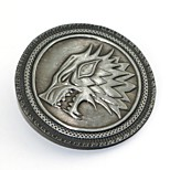 Badge Inspired by Game of Thrones Eren Jager Anime Cosplay Accessories Brooch Alloy