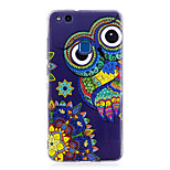 Case For P8 Lite (2017) P10 Lite Glow in the Dark IMD Pattern Back Cover Owl Soft TPU for Huawei P10 Lite Huawei P9 Lite Huawei P8 Lite