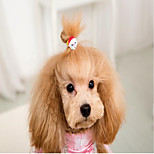 Cat Dog Hair Accessories Dog Clothes Party Casual/Daily Wedding Halloween Christmas New Year's Animal Random Color Costume For Pets