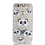 For Case Cover Pattern Back Cover Case Cartoon Panda Soft TPU for Huawei Huawei P10 Lite Huawei P10 Huawei P9 Lite Huawei P8 Lite Huawei