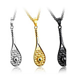 Men's Pendant Necklaces Lariat Y Necklaces Titanium Steel Metallic Sports Jewelry For Daily Holiday