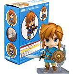 Аниме Фигурки Вдохновлен The Legend of Zelda Link ПВХ 10 См Модель игрушки игрушки куклы