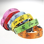 Dog Collar LED Light Strobe/Flashing Adjustable Cartoon Nylon
