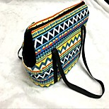 Cat Dog Sling Bag Pet Carrier Portable Rainbow Rainbow