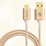 ASZUNE USB 2.0 Connect Cable USB 2.0 to USB 2.0 Type C Connect Cable Male - Male 3.0m(10Ft) 480 Mbps