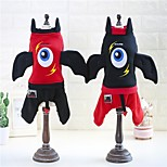Dog Costume Coat Sweatshirt Dog Clothes Party Cosplay Halloween Christmas Cartoon Red Black