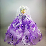 Party/Evening Dresses Dresses For Barbie Doll Light Purple Dresses For Girl's Doll Toy