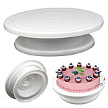 28cm Kitchen Cake Decorating Icing Rotating Turntable Cake Stand Plastic Fondant Baking Tool
