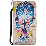 Case For Motorola Z Force Card Holder Wallet with Stand Flip Pattern Full Body Dream Catcher Hard PU Leather for Moto G4 Play MOTO G4