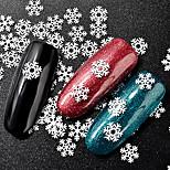 Недорогие -гвоздь блеск арт-деко / ретро рождественские украшения ногтей 0,015 кг / коробка
