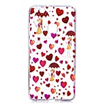 Case For Huawei P8 Lite (2017) P10 Lite Transparent Pattern Back Cover Heart Sexy Lady Soft TPU for Huawei P10 Lite Huawei P10 Huawei P9