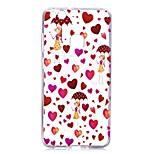 Funda Para Huawei P8 Lite (2017) P10 Lite Transparente Diseños Cubierta Trasera Corazón Chica Sexy Suave TPU para Huawei P10 Lite Huawei