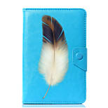 Universal Feathers PU Leather Stand Cover Case For 7 Inch 8 Inch 9 Inch 10 Inch Tablet PC