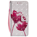 Case For Huawei P8 Lite (2017) P10 Lite Card Holder Wallet with Stand Flip Pattern Full Body Flower Hard PU Leather for Huawei P10 Lite