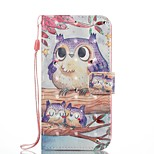 Case For Huawei P8 Lite (2017) P10 Lite Card Holder Wallet with Stand Flip Magnetic Pattern Full Body Owl Hard PU Leather for Huawei P10
