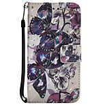 Case For Motorola Z Force Card Holder Wallet with Stand Flip Pattern Full Body Butterfly Hard PU Leather for Moto G4 Play MOTO G4 Moto Z