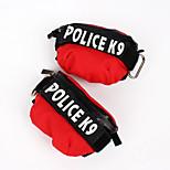 Собака рюкзак Одежда для собак На каждый день Буквы и цифры Черный Оранжевый Красный Зеленый Синий Костюм Для домашних животных