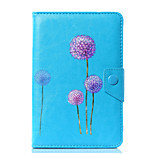 Universal Dandelion PU Leather Stand Cover Case For 7 Inch 8 Inch 9 Inch 10 Inch Tablet PC