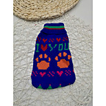 Cat Dog Sweater Dog Clothes Stylish Yarn Dyed Costume For Pets