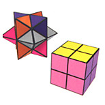 Infinity Cubes Toys Toys Office Desk Toys Stress and Anxiety Relief Square Shape Plastic Places Classic Style Pieces Teen Adults' Gift