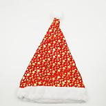 estrela e lua chapeado quente chapéu de natal enfeite de natal