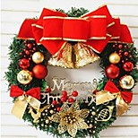 1pc рождественские украшения гирлянды для праздничных украшений 30 * 30