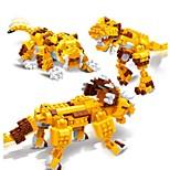 Конструкторы Игрушки трицератопс Динозавр Tiger Животные 3 в 1 Образование 328 Куски