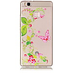 Case For Huawei P8 Lite (2017) P10 Lite Transparent Pattern Back Cover Butterfly Flower Soft TPU for Huawei P10 Lite Huawei P9 Lite
