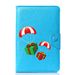 Universal Christmas Designs PU Leather Stand Cover Case For 7 Inch 8 Inch 9 Inch 10 Inch Tablet PC