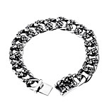 Men's Chain Bracelet Bracelet Casual Fashion Hiphop Gothic Cool Stainless Titanium Steel Geometric Jewelry For Party Daily