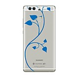 Case For Huawei P10 Transparent Pattern Back Cover Flower Soft TPU for Huawei P10 Plus Huawei P10 Lite Huawei P10 Huawei P9 Huawei P9