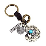 cheap -Keychains Jewelry Leather Alloy Irregular Vintage Gothic Gift Street