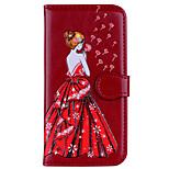 preiswerte -Hülle Für Xiaomi Redmi Note 4 Redmi 4X Kreditkartenfächer Flipbare Hülle Muster Geprägt Sexy Lady Glänzender Schein Hart für
