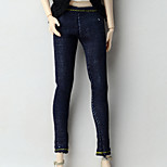 Trousers Shorts & Pants & Leggings For Barbie Doll Dark Navy Pants For Girl's Doll Toy