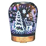 hhy новейший 3d-эффект художественное стекло привело свет лучший подарок ароматный увлажнитель - датчик красоты