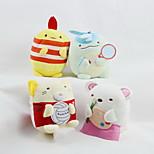 Недорогие -Мягкие игрушки Игрушки Животный принт Животные Семья Друзья Животные Декоративная Свадьба Взрослые 1 Куски
