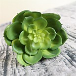 Недорогие -1 Филиал Пластик Суккулентные растения Букеты на стол Искусственные Цветы