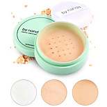 cheap -3 Powder Concealer/Contour Pressed Powder Dry Matte Loose powder Whitening Oil-control Natural Waterproof White balance Concealer #