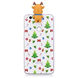 Case For Huawei P8 Lite (2017) P10 Lite Shockproof Back Cover Christmas 3D Cartoon Soft TPU for Huawei P10 Lite Huawei P10 Huawei P9