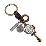 Keychains Jewelry Leather Alloy Irregular Classic Fashion Daily